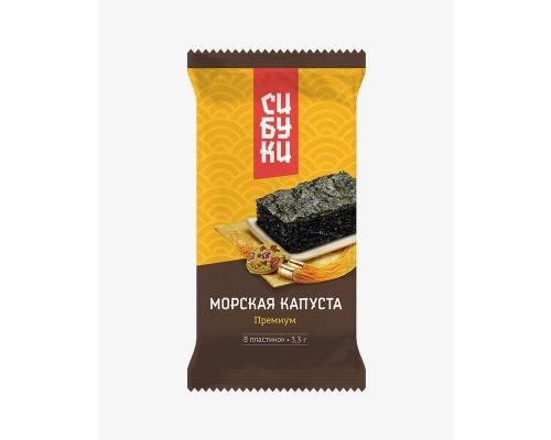 Морская капуста сушеная Сибуки Премиум 8 упаковок по 3,3 г