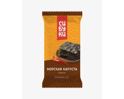 Морская капуста сушеная Сибуки Кимчи 8 упаковок по 3,3 г