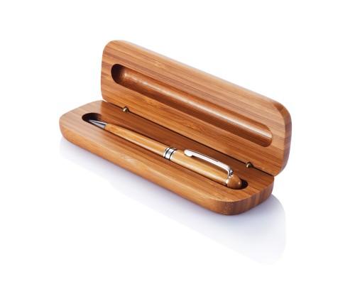 Бамбуковая ручка в пенале Bamboo
