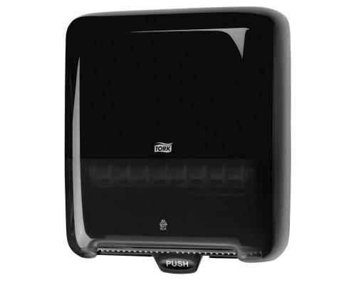 Держатель для рулонных полотенец Tork Matic Elevation H1 551008 пластиковый черный