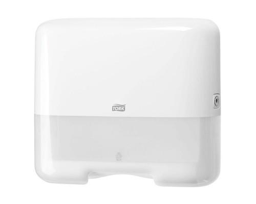 Держатель для листовых полотенец Tork Mini Singlefold H3 ZZ/С 553100 пластиковый белый