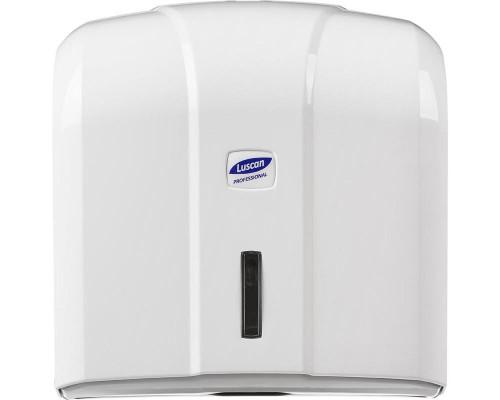 Держатель для листовых полотенец Luscan Professional V пластиковый белый