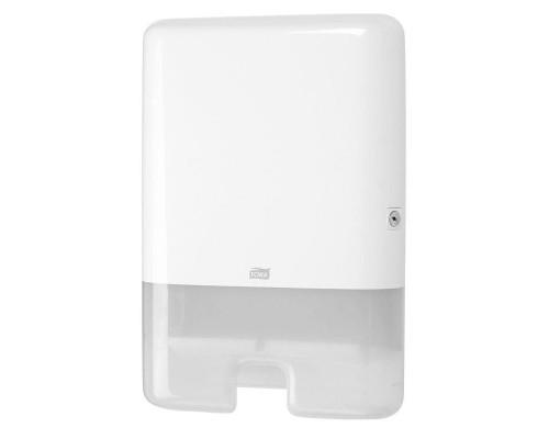 Держатель для листовых полотенец Tork Xpress Multifold H2 552000 пластиковый белый