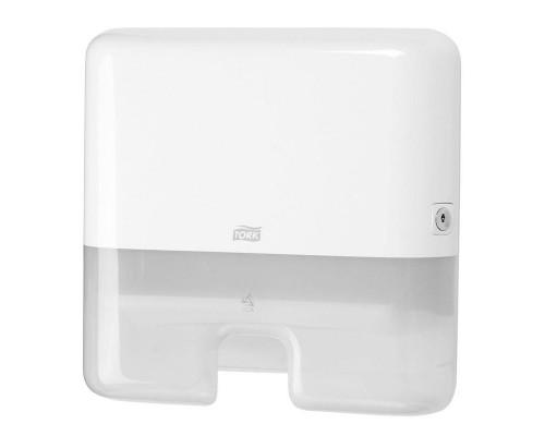 Держатель для листовых полотенец Tork Xpress Mini H2 552100 пластиковый белый