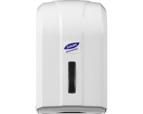 Держатель для туалетной бумаги в листах Luscan Professional пластиковый белый