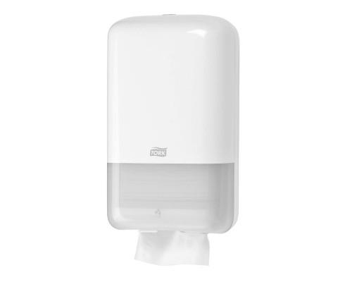 Держатель для туалетной бумаги в листах Tork Elevation Т3 556000 пластиковый белый