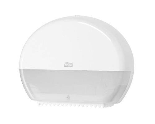 Держатель для туалетной бумаги в мини-рулонах Tork Elevation Т2 555000 пластиковый белый