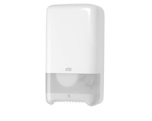 Держатель для туалетной бумаги в миди-рулонах Tork Elevation Т6 557500 пластиковый белый