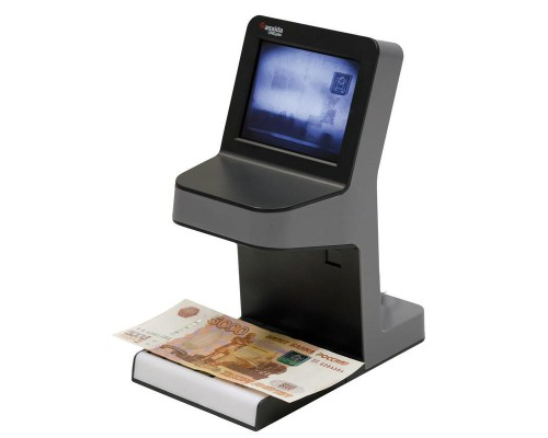 Детектор банкнот Cassida UNOplus Laser, LCD, Антистокс