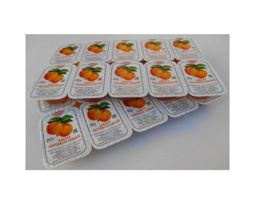 Джем порционный Руконт абрикос, 20 штук в упаковке