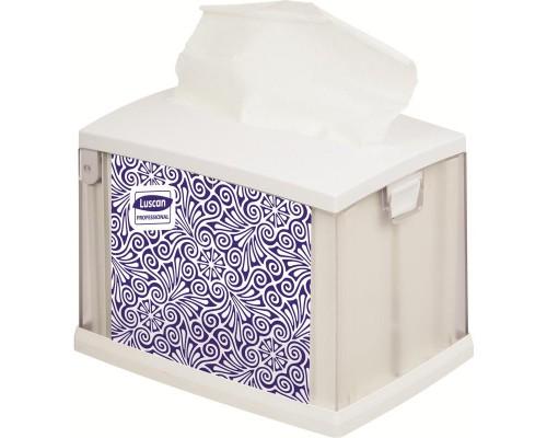 Диспенсер для салфеток Luscan Professional N4 серый пластик