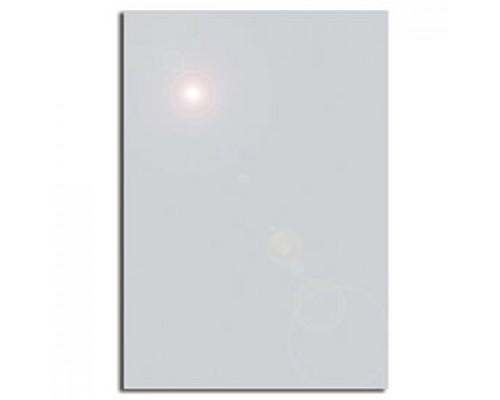 Дизайн-бумага DECADRY А4, 130г/м2, Серебристый металлик, 20л.