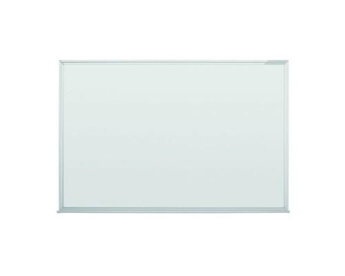 Доска белая, магнитно-маркерная, 120x90см MAGNETOPLAN, эмаль, алюминиевый профиль