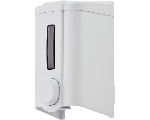 Дозатор для жидкого мыла Luscan Professional 500мл S2, белый пластик