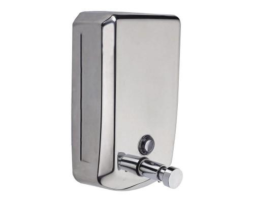 Дозатор для жидкого мыла (1 л, сталь)