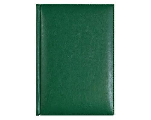 Ежедневник A5 145х205мм 320стр, недат, кожзам, AVANZO DAZIARO Birmingham, зеленый