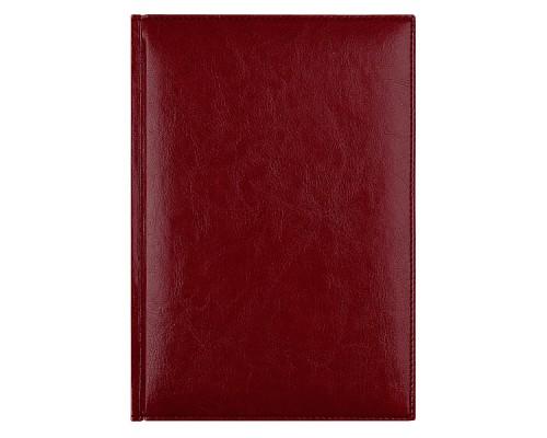 Ежедневник A5 145х205мм 320стр, недат, кожзам, AVANZO DAZIARO Birmingham, красный