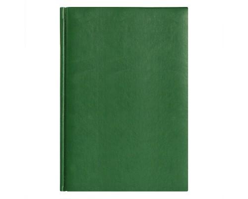Ежедневник A5 145х205мм 320стр, недат, кожзам, AVANZO DAZIARO City Winner, зеленый