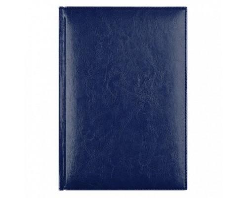Ежедневник A5 145х205мм 320стр, недат, кожзам, AVANZO DAZIARO Birmingham, синий