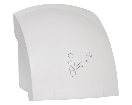 Сушилка для рук автоматическая Puff пластиковая белая