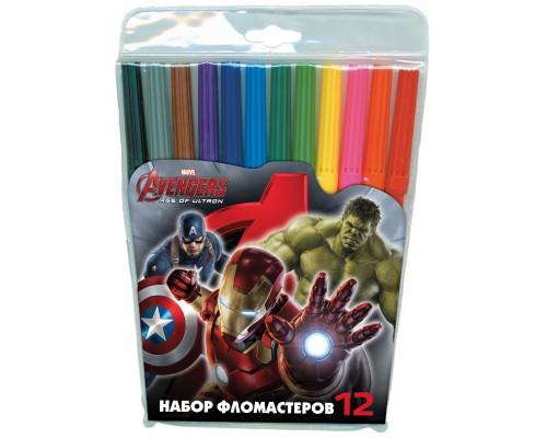 Флом 12цв Мстители-2, разноцветн.
