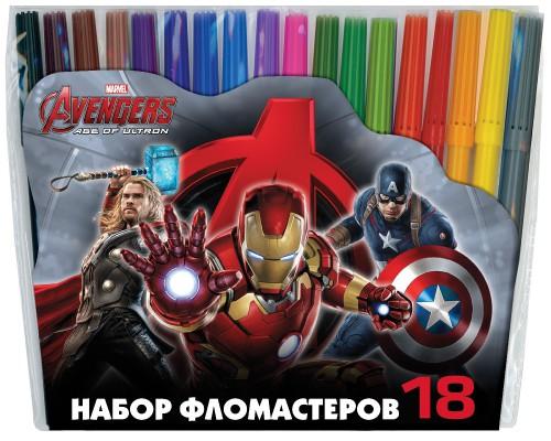 Флом 18цв Мстители-2, разноцветн.