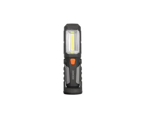 Фонарь автомобилиста светодиодный КОСМОС 1W LED + 5W COB LED