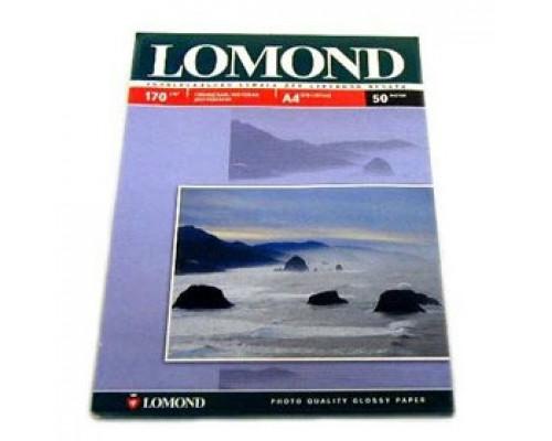 Фотобумага 170г/м2 А4 LOMOND 0102006, 2-сторон. матовая, 100л.