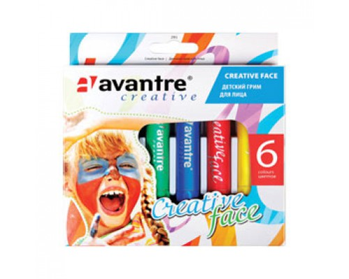 Грим для лица AVANTRE Creative face, 6цв
