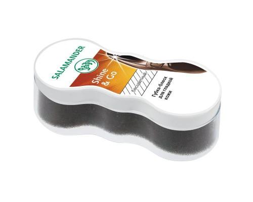 Губка для обуви Salamander Shine & Go для гладкой кожи бесцветная