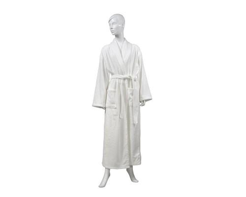 Халат Махровый Luscan размер 56-58 420гр/м2 белый