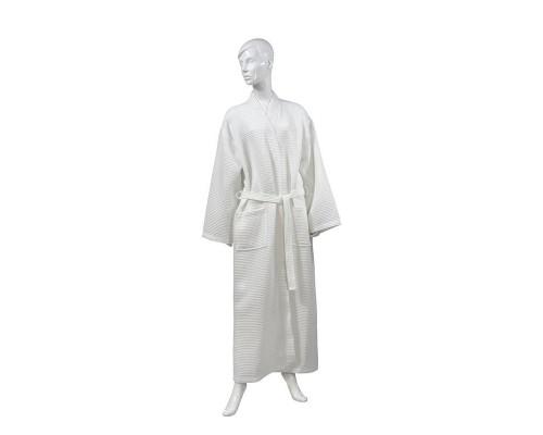Халат Вафельный Luscan размер 50-52 240гр/м2 белый