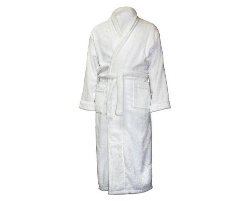 Халат махровый, размер 50-52, 380гр/м2,белый