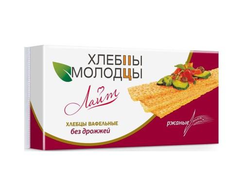 Хлебцы Хлебцы-Молодцы вафельные ржаные, 70 г.