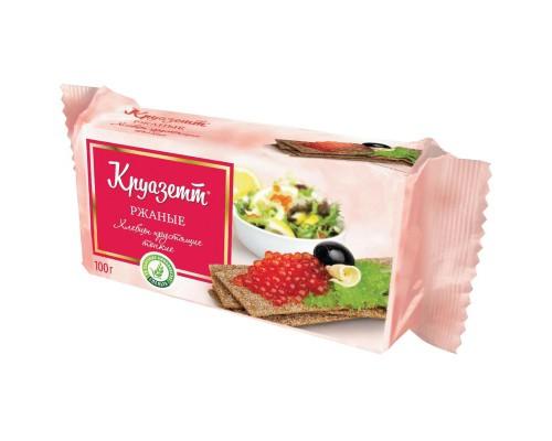 Хлебцы Круазетт ржаные тонкие фп 100 г