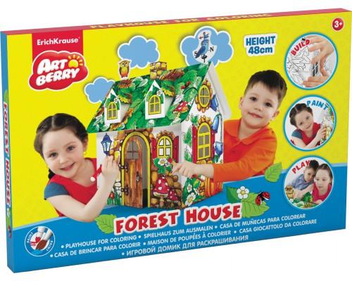 Игровой домик для раскрашивания Artberry/Forest house/мал/карт. короб., разноцветн.