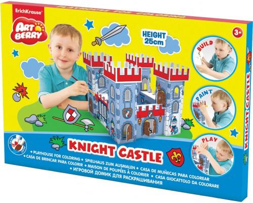 Игровой домик для раскрашивания Artberry/Knight Castle/крепость/карт. короб., разноцветн.