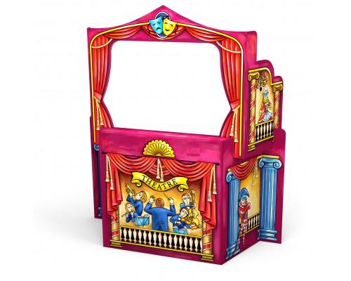 Игровой конструктор для раскрашивания Artberry/Puppet Theatre/больш/карт. короб., разноцветн.