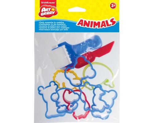Пластиковые аксессуары для лепки ArtBerry/Animals, разноцветн.