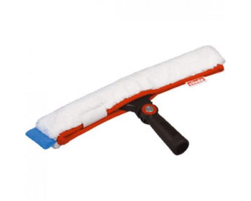 Щетка для мытья окон VILEDA Эволюшн 35см, в сборе с микроволокон. насадкой