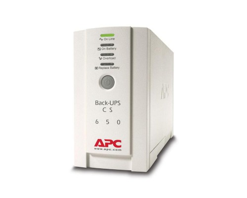 ИБП APC by Schneider Electric Back-UPS BK650EI 650VA 230V