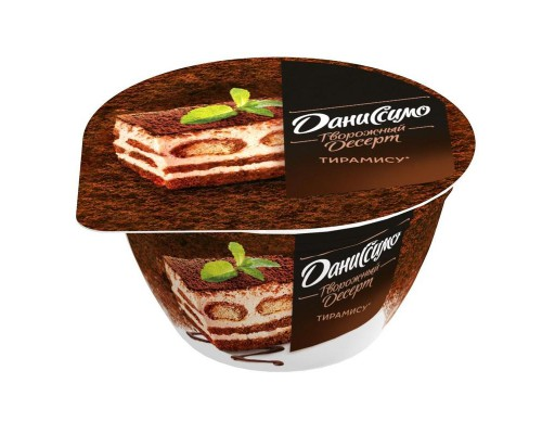 Десерт творожный Даниссимо тирамису 140 г