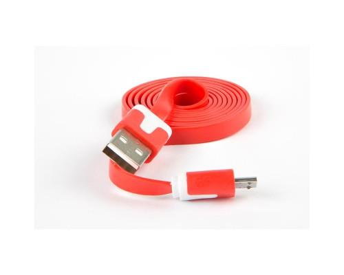 Кабель Red Line USB - Micro-USB красный