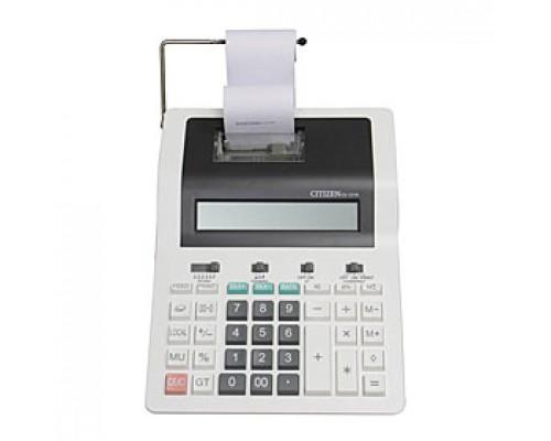 Калькулятор с 2-цветной печатью 12 разрядов CITIZEN CX-121N, 194х260х66мм, черно-белый