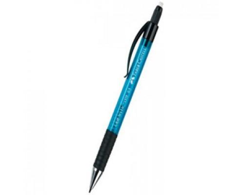 Карандаш механический 0,5мм FABER-CASTELL Grip Matic 1375, синий