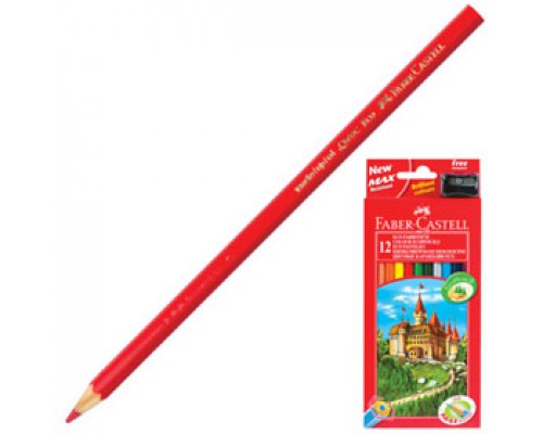 Набор карандашей 12цв. FABER-CASTELL