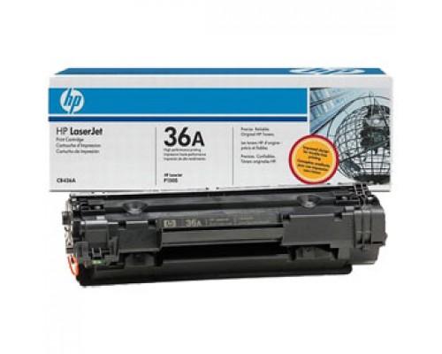 Тонер-картридж HP 36A CB436A для LJ М1522/М1120, черный
