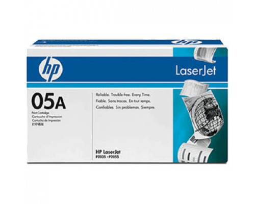 Картридж HP 05A CE505A для LJ Р2035/2055, черный