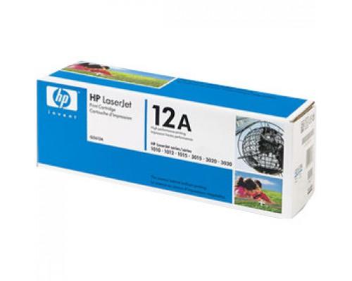 Тонер-картридж HP 12A Q2612A для LJ 1010/1012/1015, черный