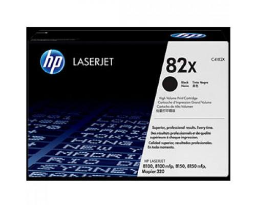 Тонер-картридж HP 82X C4182X пов. емк. для LJ 8100, черный